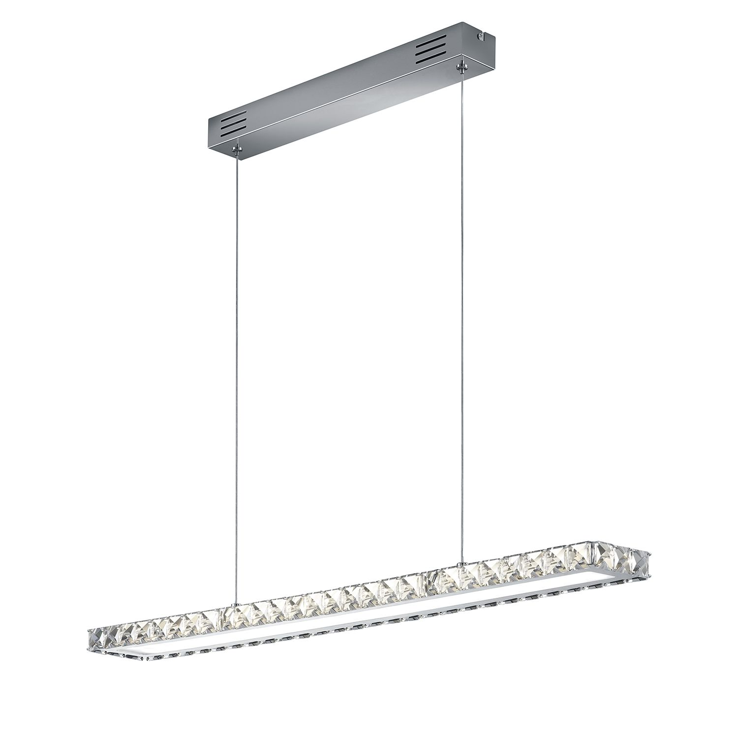 LED-Pendelleuchte Grenoble ● Metall / Glas ● 1-flammig- Trio A+