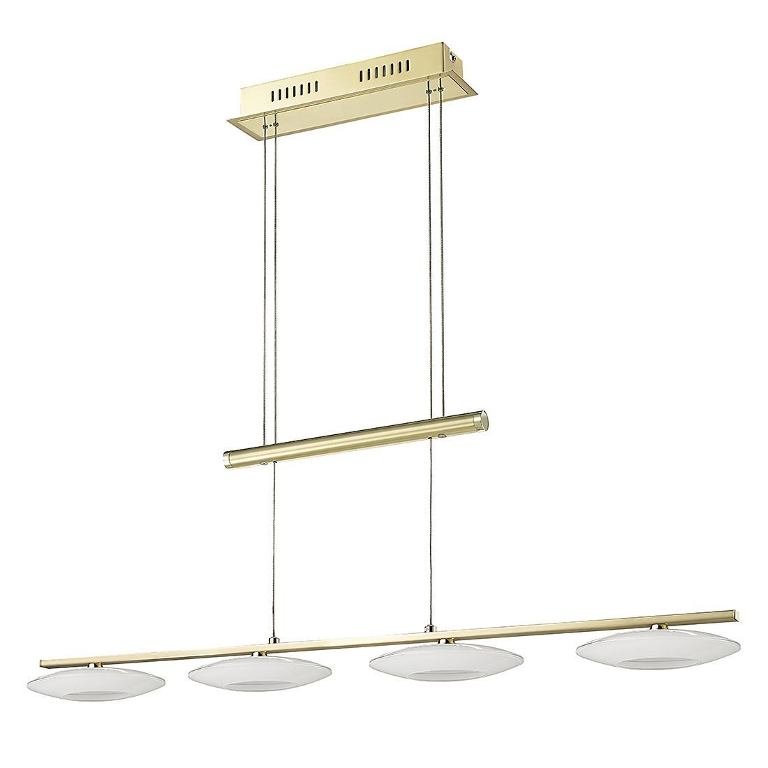 EEK A+, LED Pendelleuchte NEW Elina – Metall – 4-flammig, Sorpetaler günstig bestellen