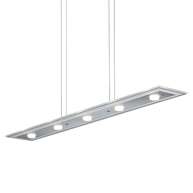 led pendelleuchte oslo aluminium glas 5 trio a g nstig online kaufen. Black Bedroom Furniture Sets. Home Design Ideas