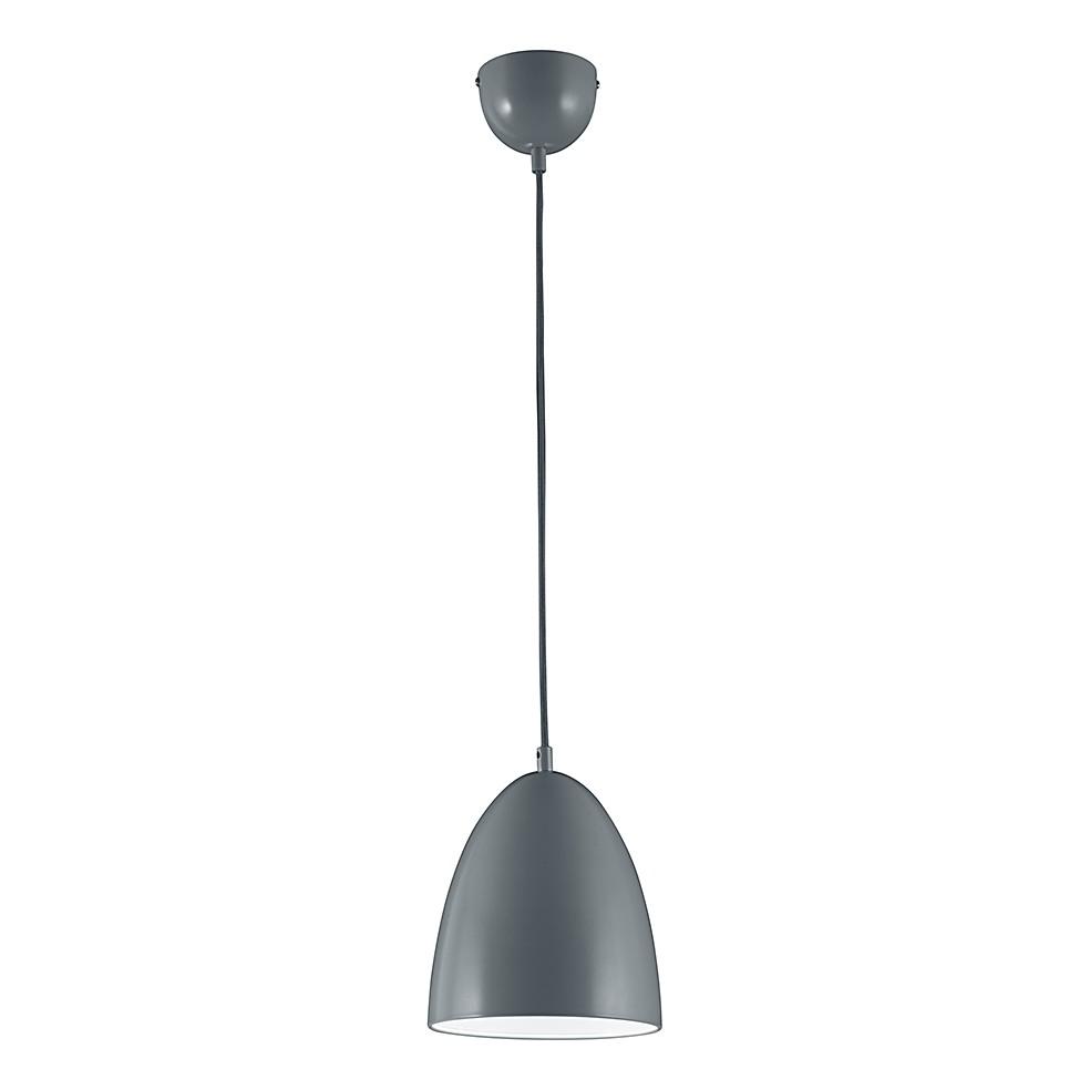 LED-Pendelleuchte ● Grau ● 1x6-5 W- Lux A+