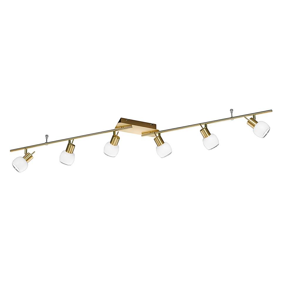 LED-Schiene – Messing matt – 6×4,5 W, Trio günstig kaufen