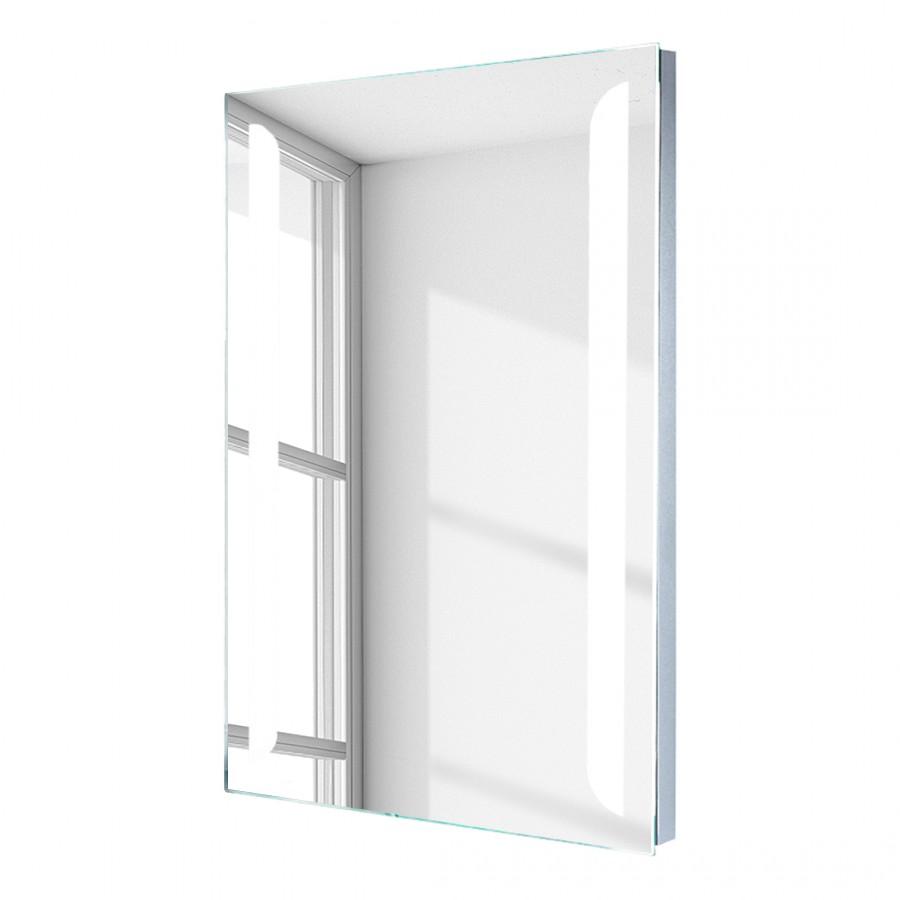 led spiegel livvy beschlagfrei von hinten beleuchtet im hochformat mit vertikalen. Black Bedroom Furniture Sets. Home Design Ideas