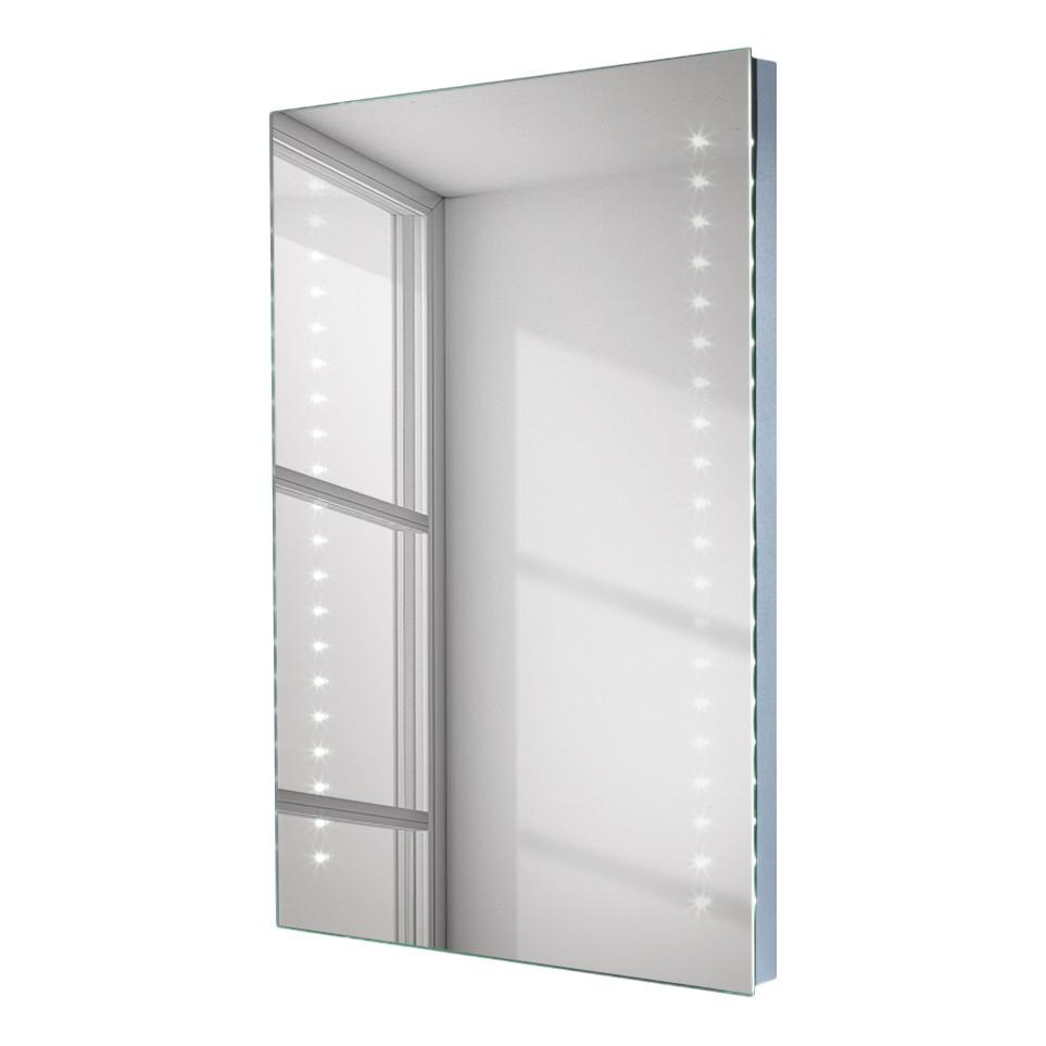 LED-Spiegel Lucca – beschlagfrei – im Hochformat mit vertikalen LEDs und beheiztem Spiegelglas, Rene Bugil jetzt bestellen