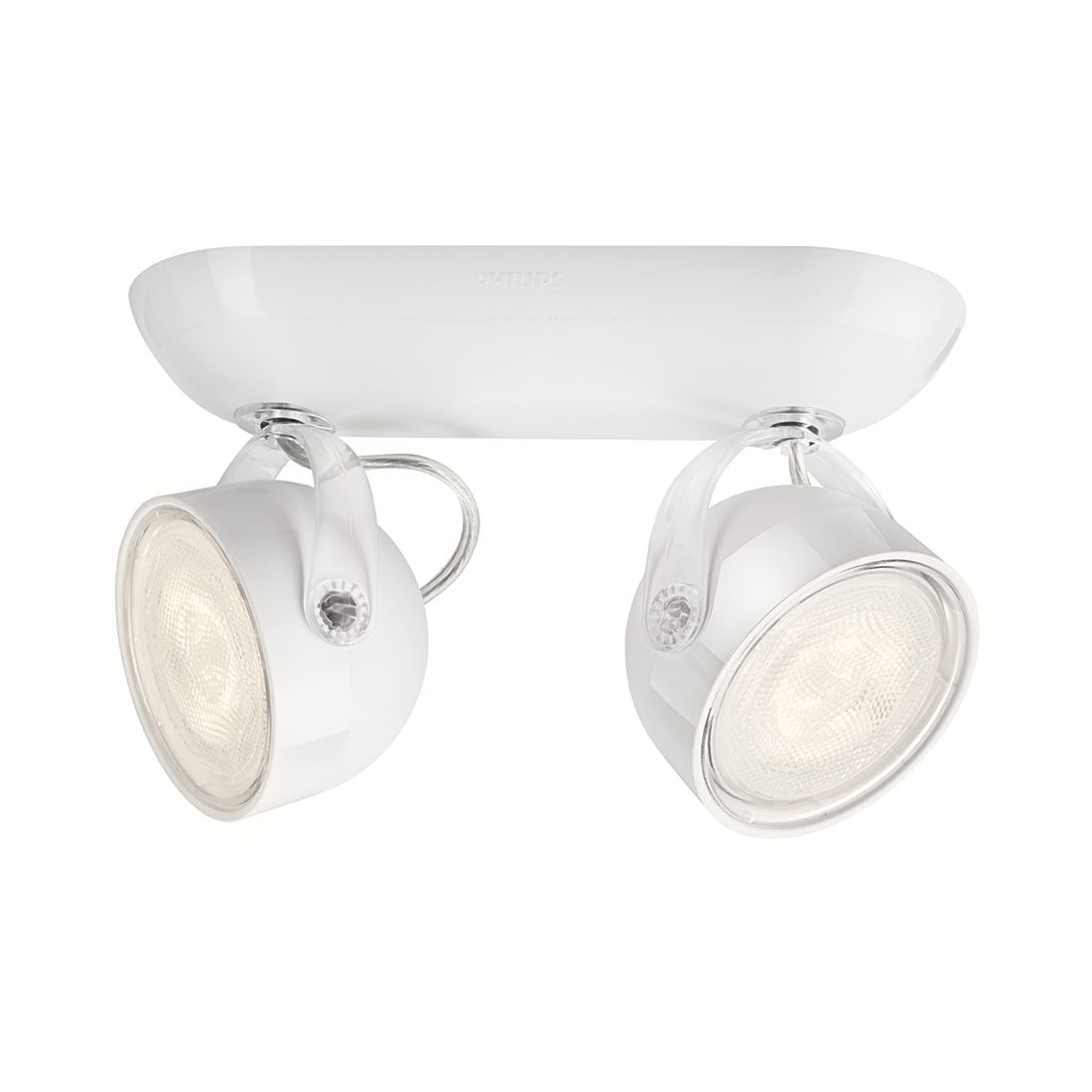 EEK A+, LED-Spotbalken myLiving Dyna II – Weiß – 2-flammig, Philips jetzt kaufen