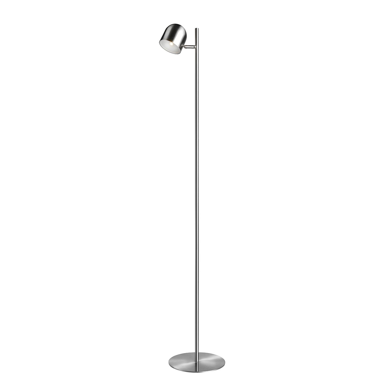 LED-Stehleuchte Ella ● Metall ● 1-flammig ● 135 ● Silbergrau- Sompex A+