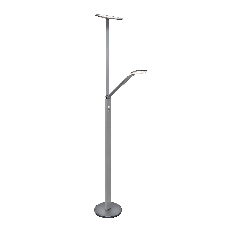 LED-Stehleuchte Hero ● Aluminium ● Dunkelgrau matt- Sompex A+