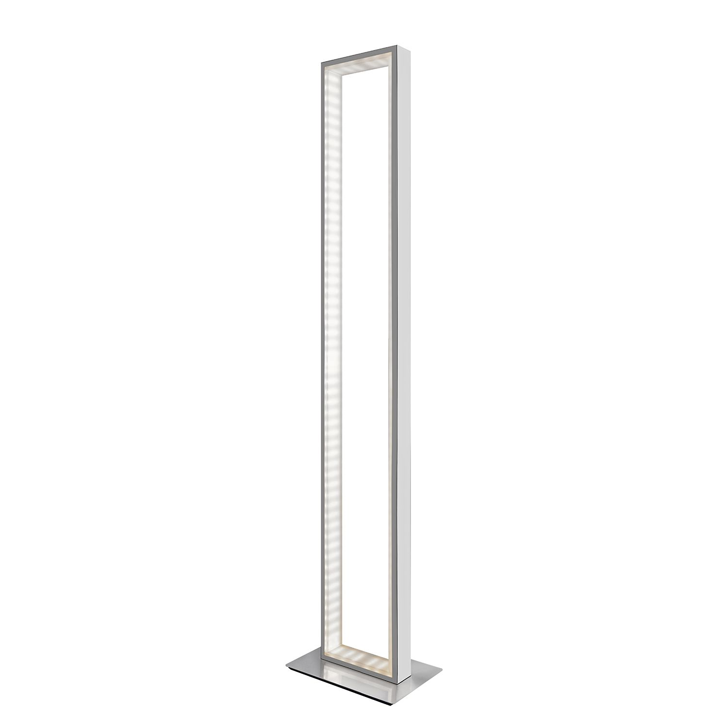 LED-Stehleuchte Otti ● Metall ● Silber Satin- Sompex A+