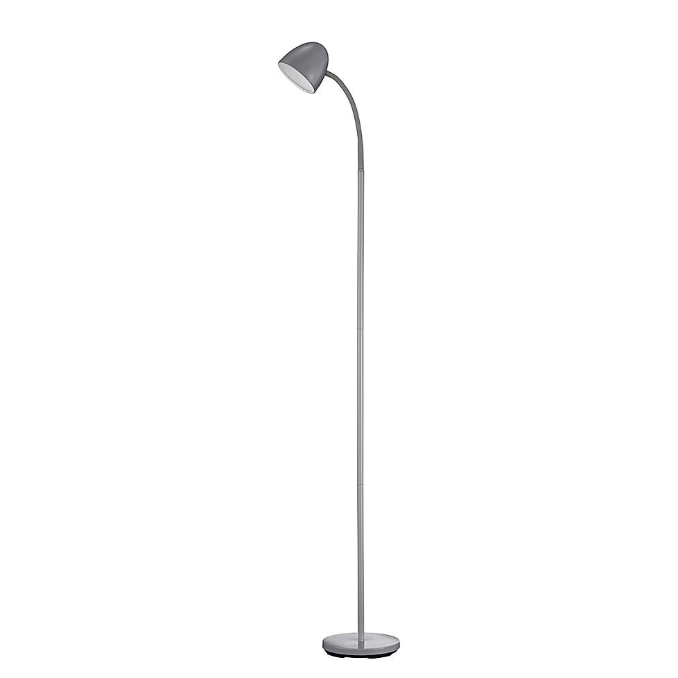 EEK A+, LED-Stehleuchte – Grau – 1×4,5 W, Trio kaufen