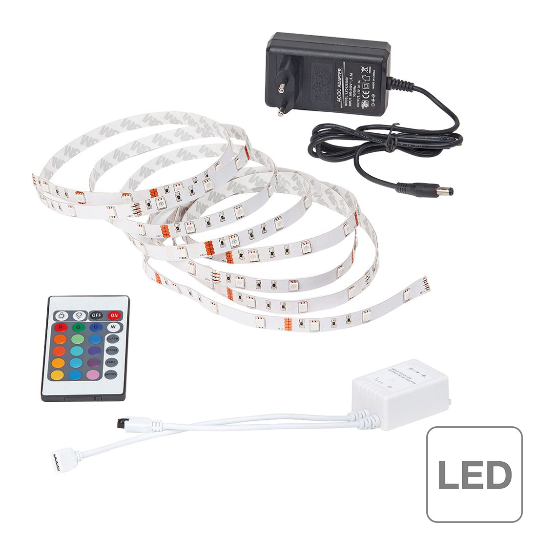 EEK A+, LED-Streifen Light Strip LED – 3-flammig, Brilliant online kaufen
