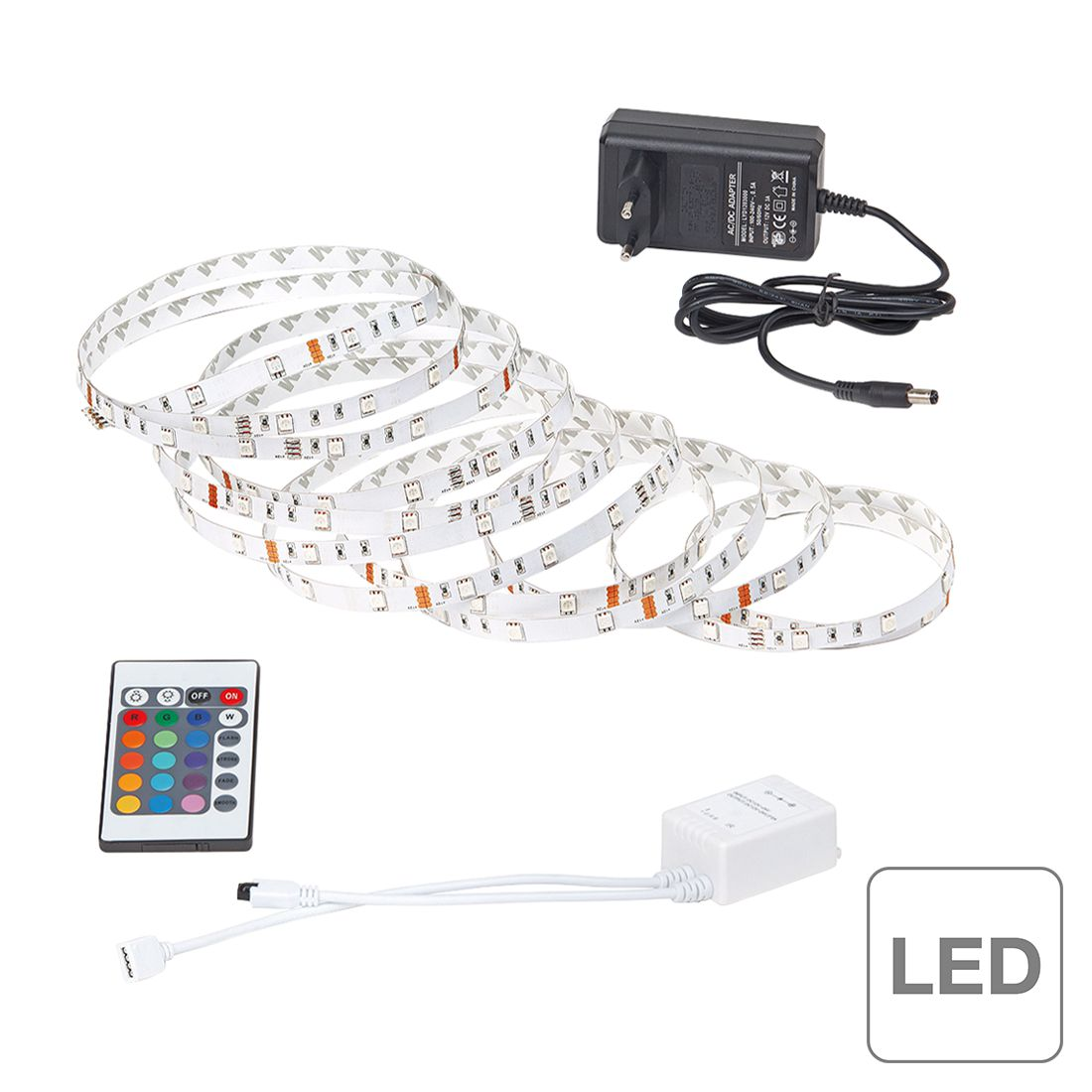 LED-Streifen Light Strip LED ● 5-flammig- Brilliant A+