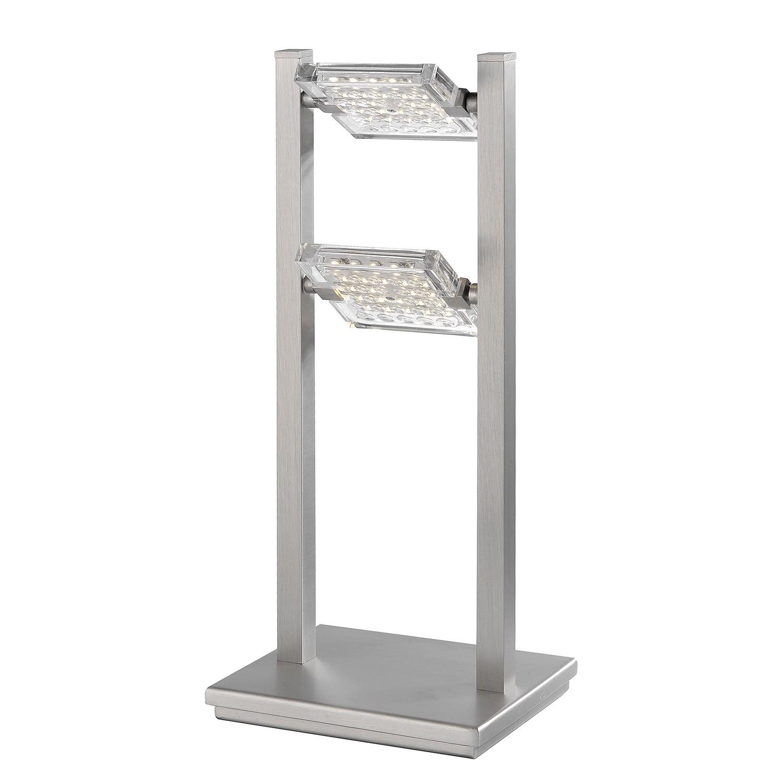 LED-Tischleuchte Futura ● Metall/ Glas ● Silber- Paul Neuhaus A+