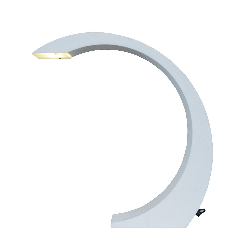 LED-Tischleuchte ● Metall ● Weiß- Näve A+