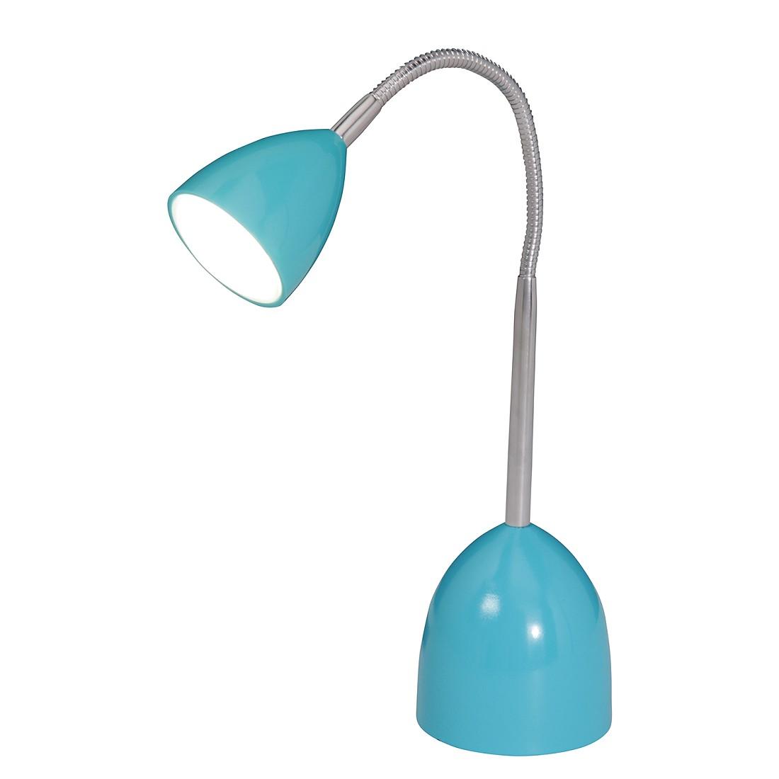 LED Tischleuchte Oskar ● Metall ● Blau- Näve