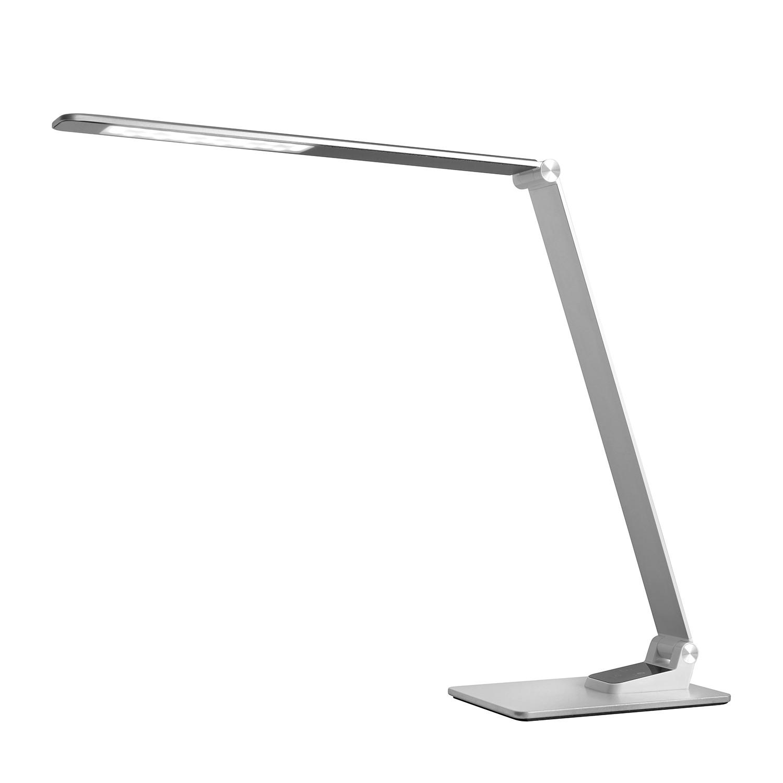 LED-Tischleuchte Uli ● Metall/Kunststoff ● Silber Satin- Sompex A+