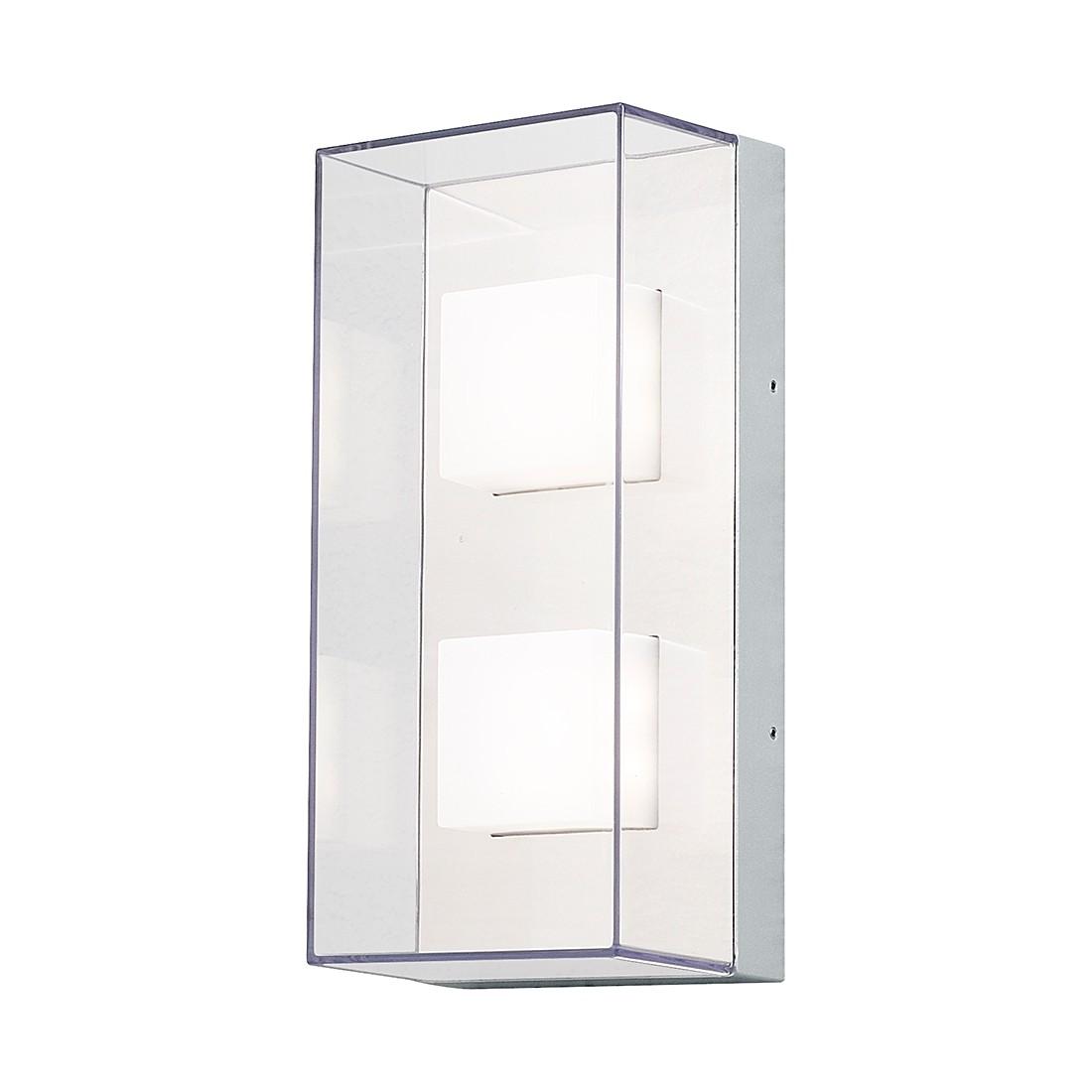 EEK A+, LED Wand- Deckenleuchte Sanremo – Aluminium/Glas – 8-flammig, Konstsmide günstig kaufen