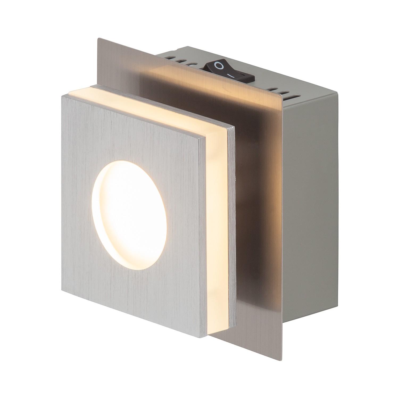 led wand und deckenleuchte transit 1 flammig aluminium silber brilliant a g nstig. Black Bedroom Furniture Sets. Home Design Ideas