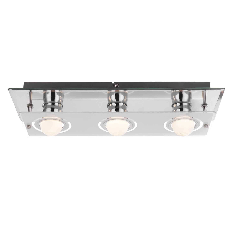 led wandleuchte blizzard metall glas 3 globo lighting a online bestellen. Black Bedroom Furniture Sets. Home Design Ideas