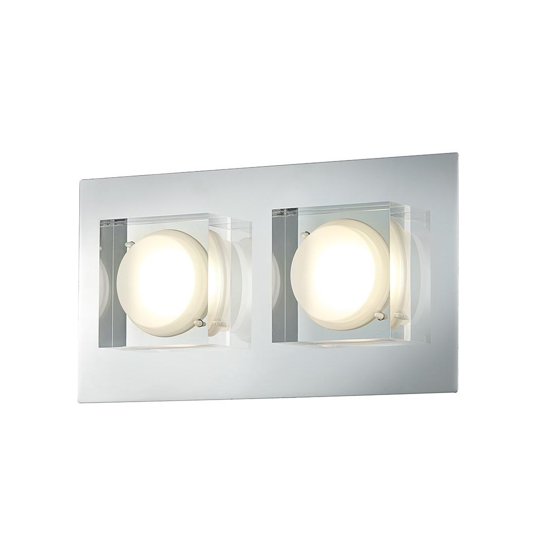 LED-Wandleuchte Brooklyn ● Chrom ● 2x5 W- Lux