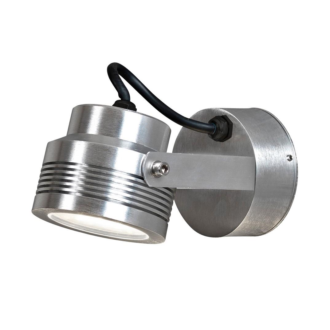 EEK A+, LED Wandleuchte Monza – Aluminium – 6-flammig, Konstsmide günstig bestellen