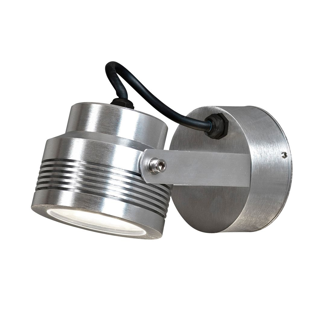 LED Wandleuchte Monza ● Aluminium ● 6-flammig- Konstsmide A+