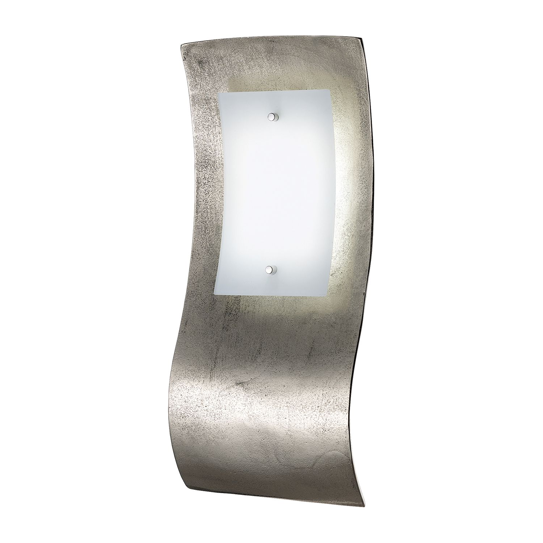 LED-Wandleuchte SHINE-ALU ● Silber Matt- Fischer Leuchten A+