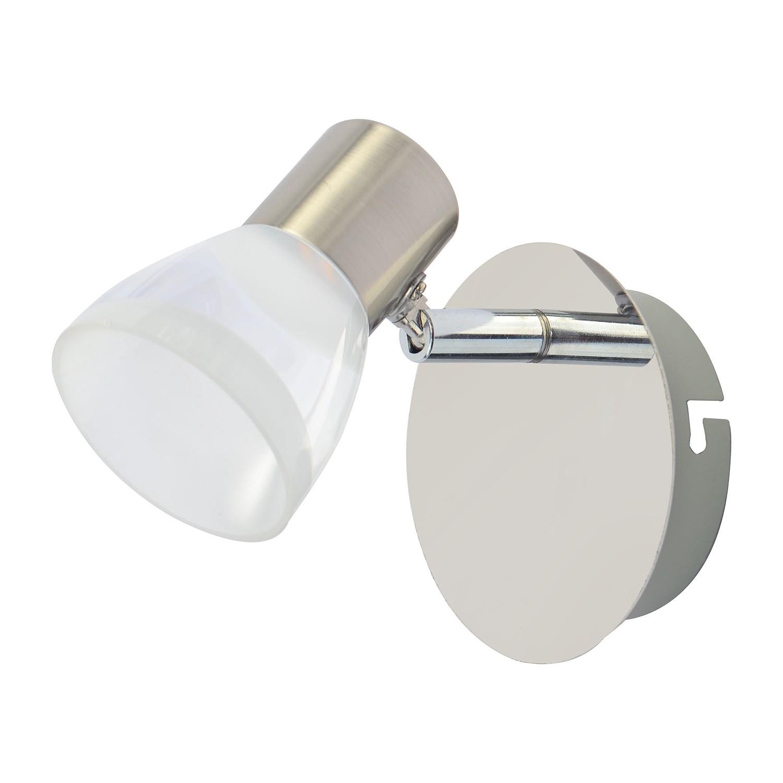 LED-Wandleuchte Steele ● Metall / Glas ● 1-flammig- Wofi A+