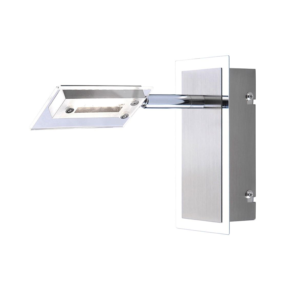 EEK A+, LED Wandspot – Nickel/Metall – 1-flammig, FLI Leuchten günstig online kaufen