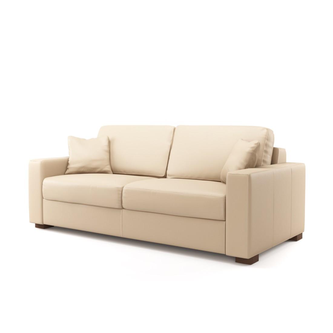 sofas aus leder g nstig kaufen. Black Bedroom Furniture Sets. Home Design Ideas