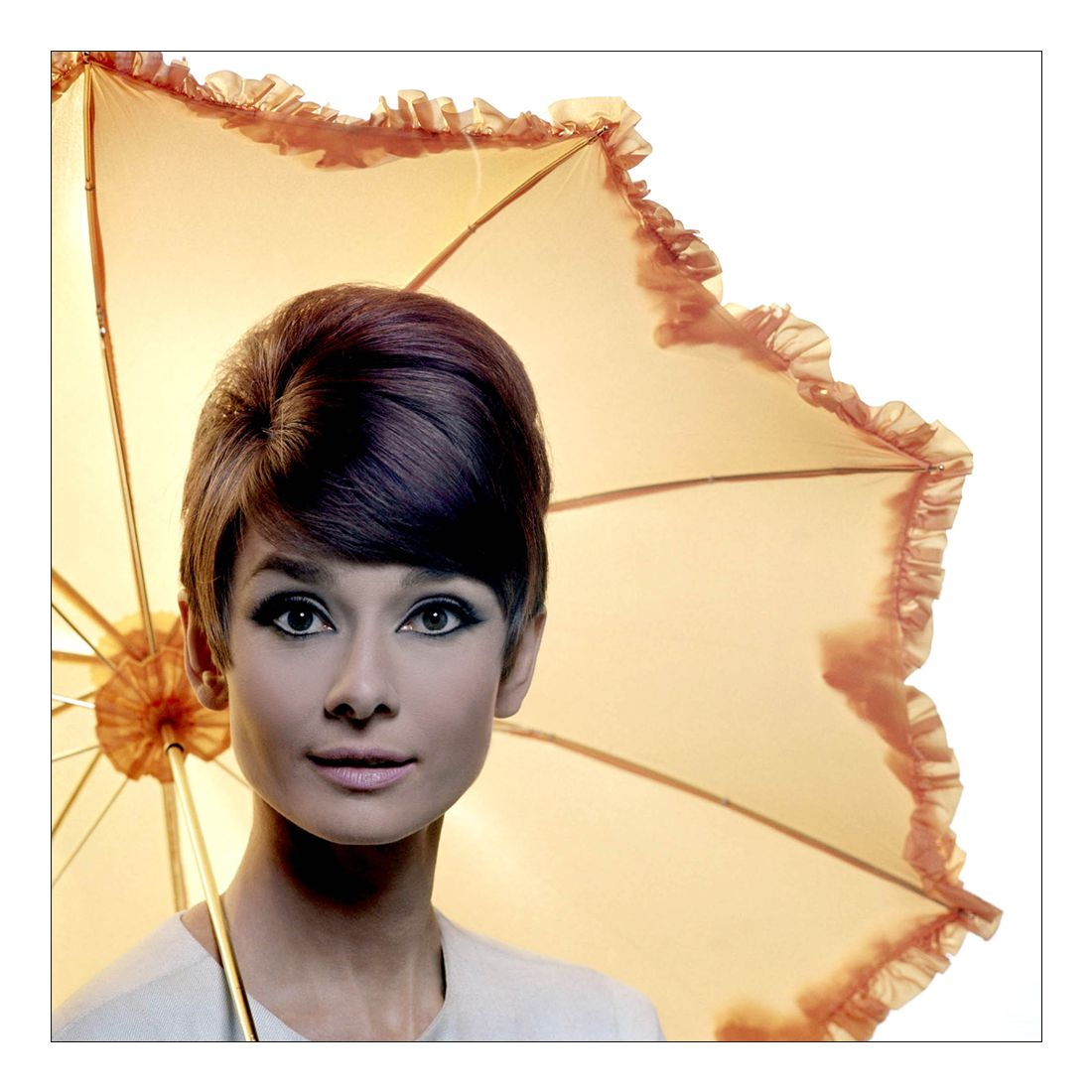 Leinwandbild Audrey Hepburn – 80 x 80cm, Gallery of Innovative Art günstig bestellen