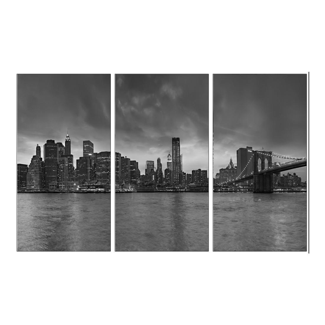 Leinwandbild BLACK & WHITE MANHATTAN 3 – Abmessung 130 x 80 cm, Gallery of Innovative Art günstig