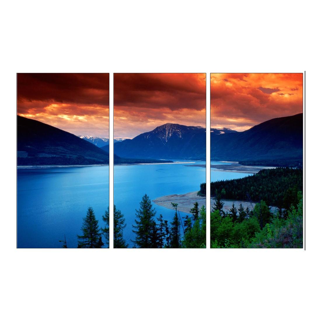 Leinwandbild Calm Evening – 120 x 80cm, Gallery of Innovative Art online kaufen