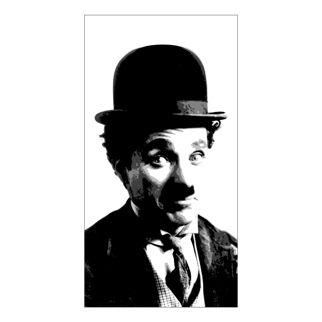 Leinwandbild Charlie Chaplin – 100 x 50cm, Gallery of Innovative Art bestellen