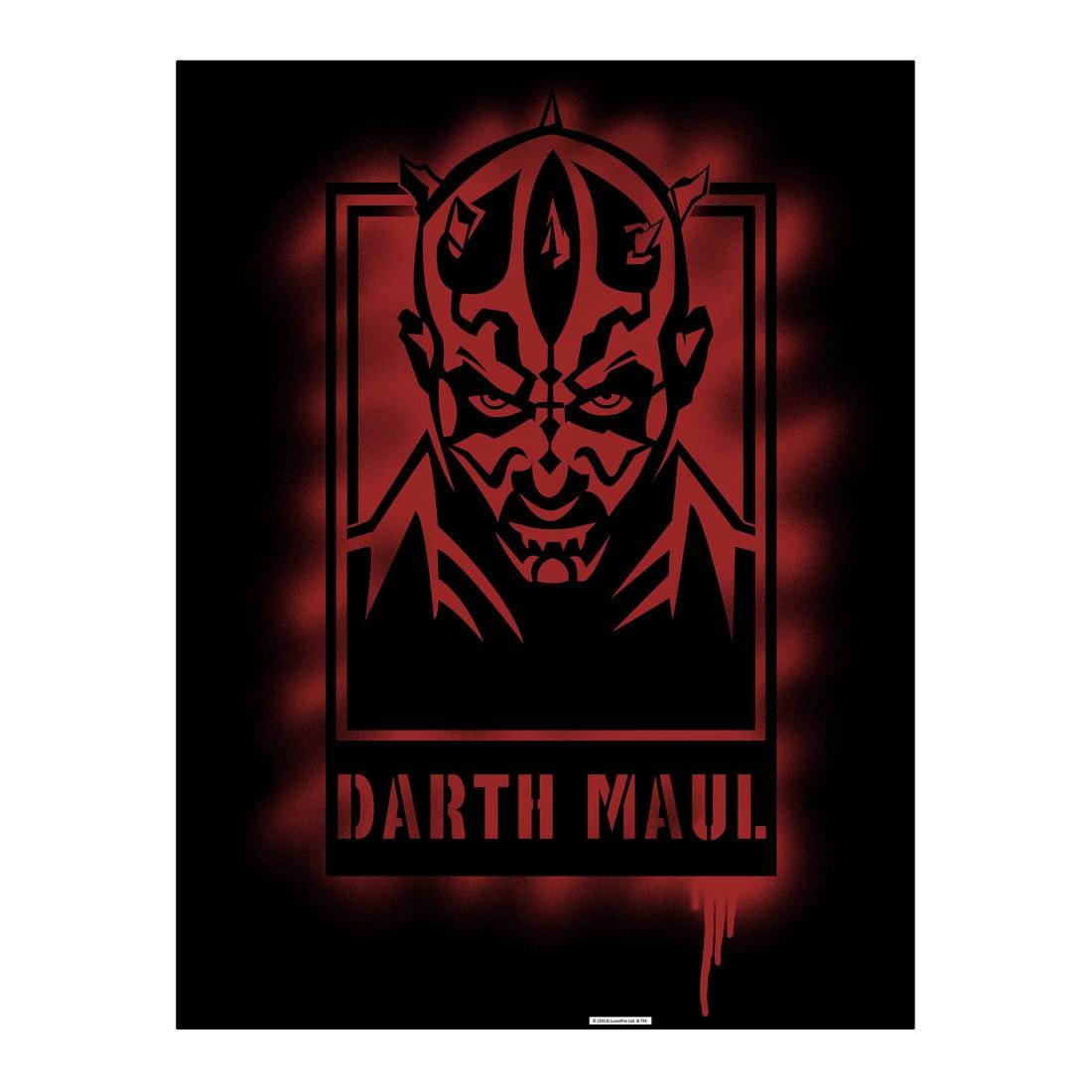 Leinwandbild Darth Maul Artwork – 100×75 cm, Gallery of Innovative Art bestellen