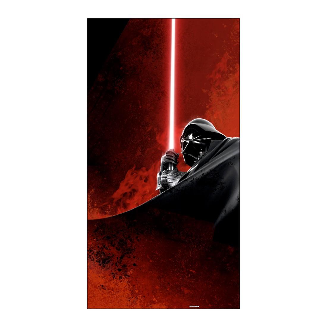 Leinwandbild Darth Vader – Mustafar Lava – Abmessung 100×50 cm, Gallery of Innovative Art günstig online kaufen
