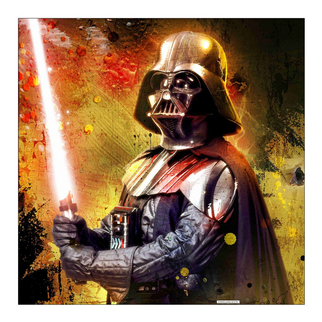 Leinwandbild Darth Vader – Sword – Abmessung 80×80 cm, Gallery of Innovative Art günstig kaufen