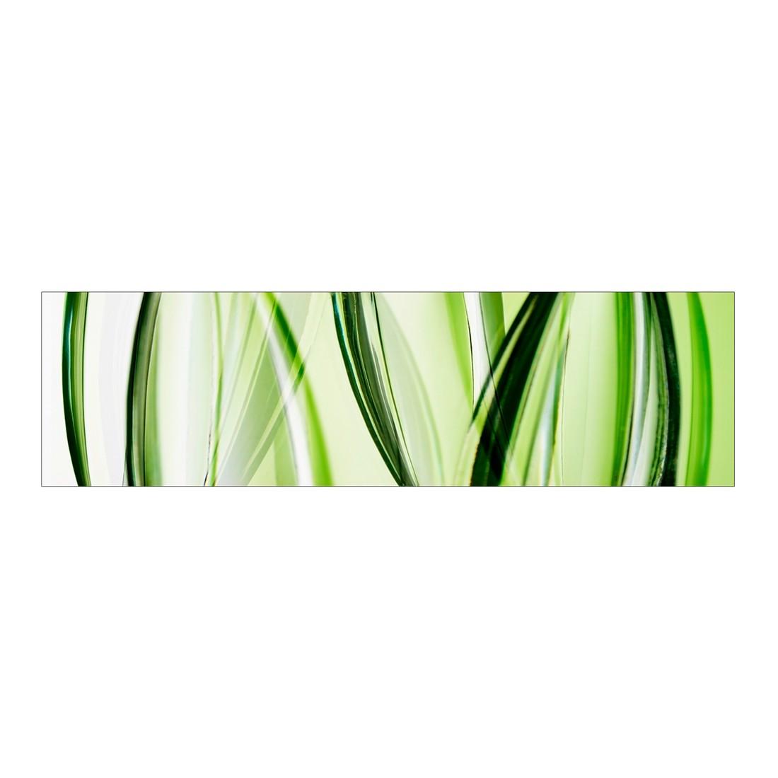 Leinwandbild Grassy Green – 120×30 cm, Gallery of Innovative Art jetzt bestellen