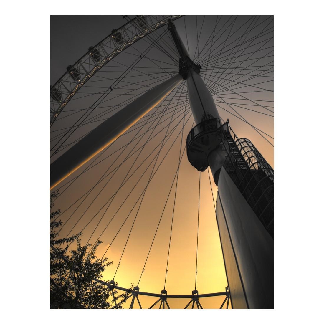 Leinwandbild London Eye – 100 x 75cm – Abmessung – 100 x 75cm, Gallery of Innovative Art online bestellen