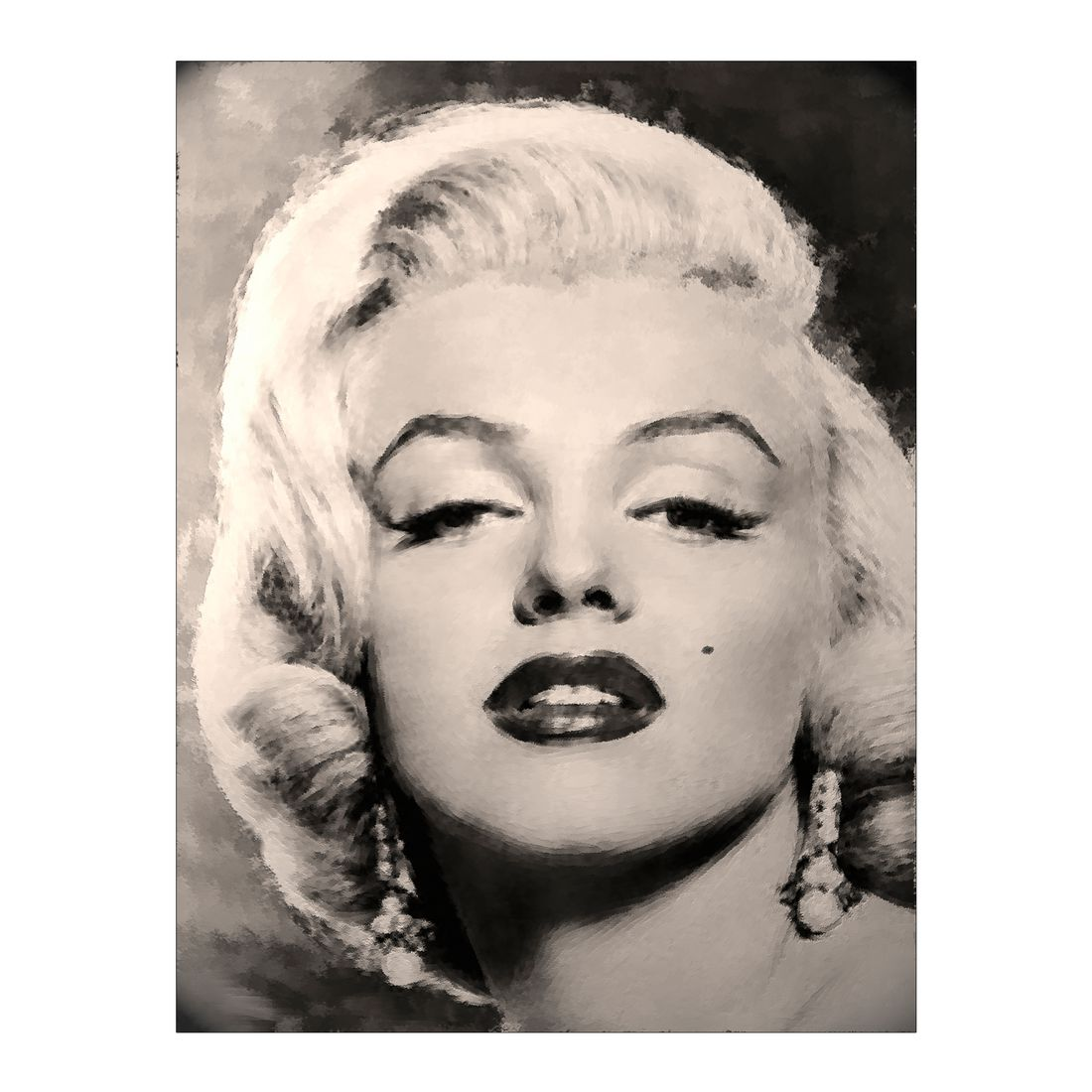 Leinwandbild Marilyn Monroe – 100×75 cm, Gallery of Innovative Art günstig