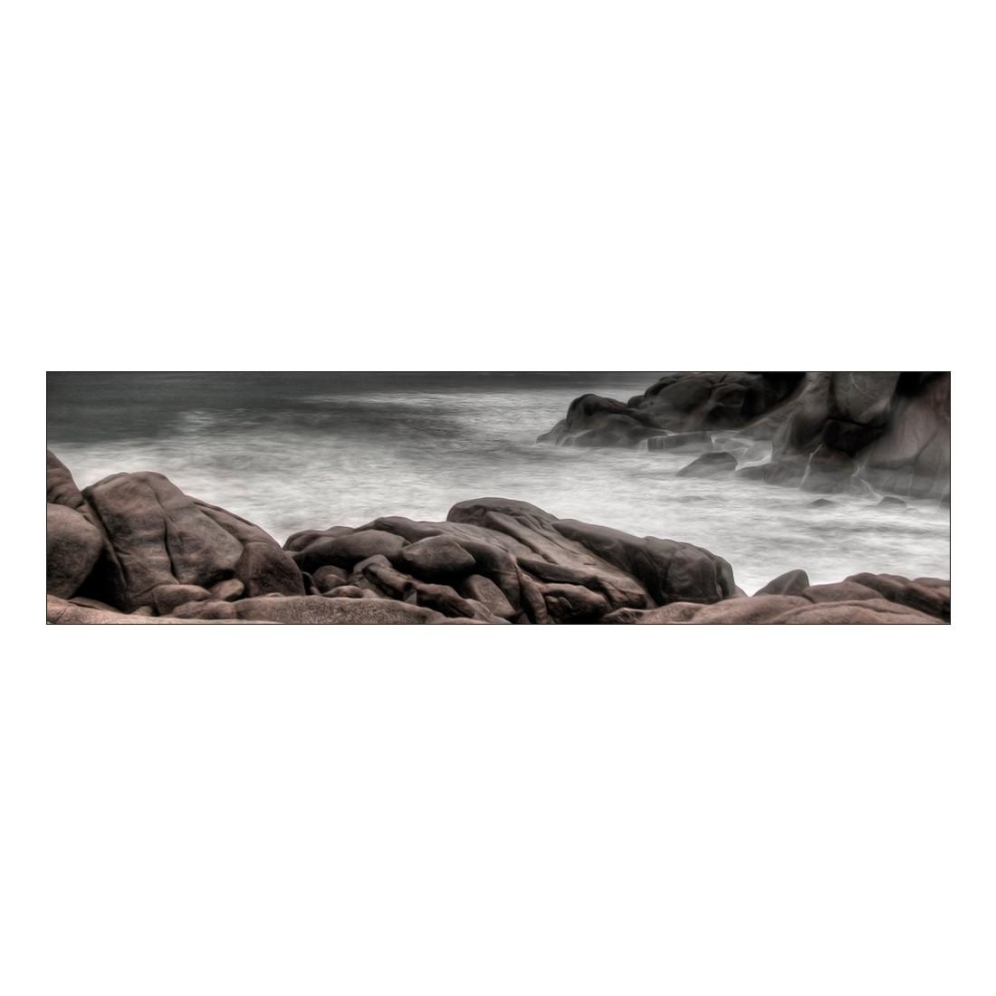 Leinwandbild Meeresbucht – 120 x 30cm, Gallery of Innovative Art jetzt kaufen