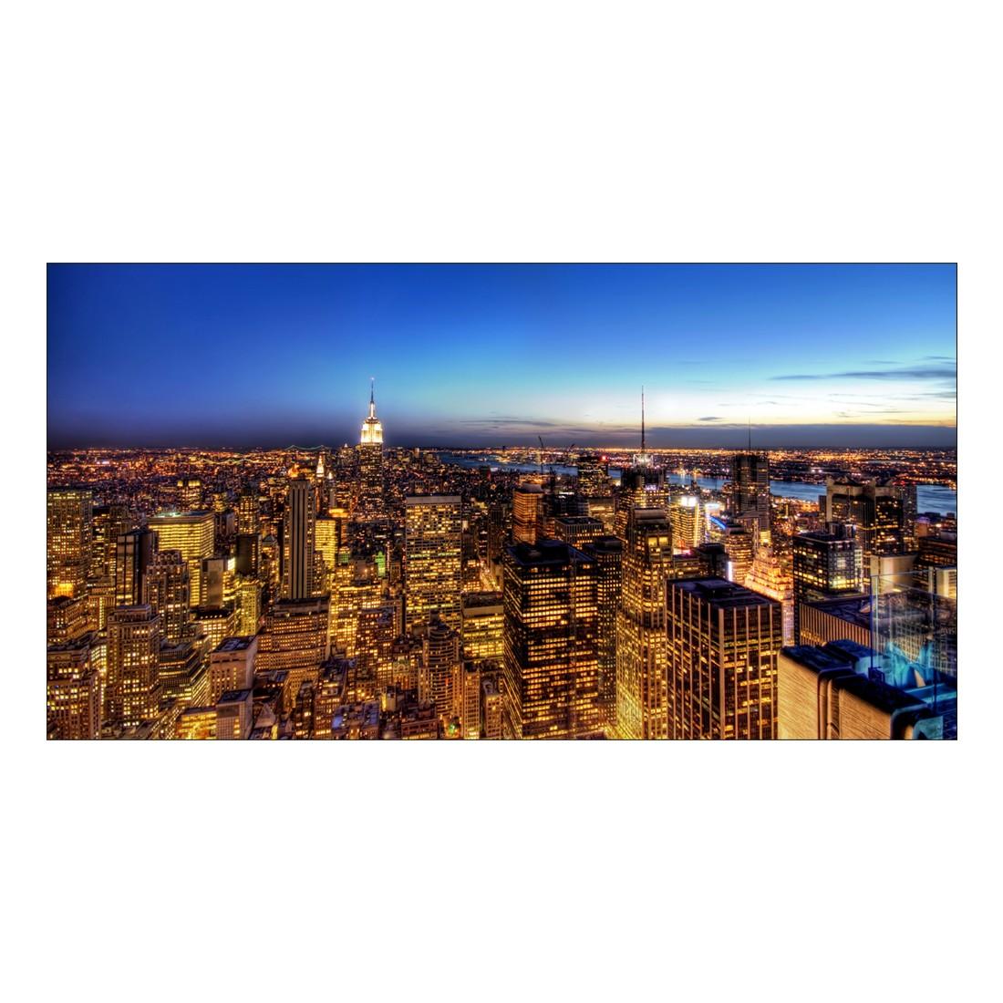 Leinwandbild NY by Night – 100 x 50cm, Gallery of Innovative Art jetzt kaufen