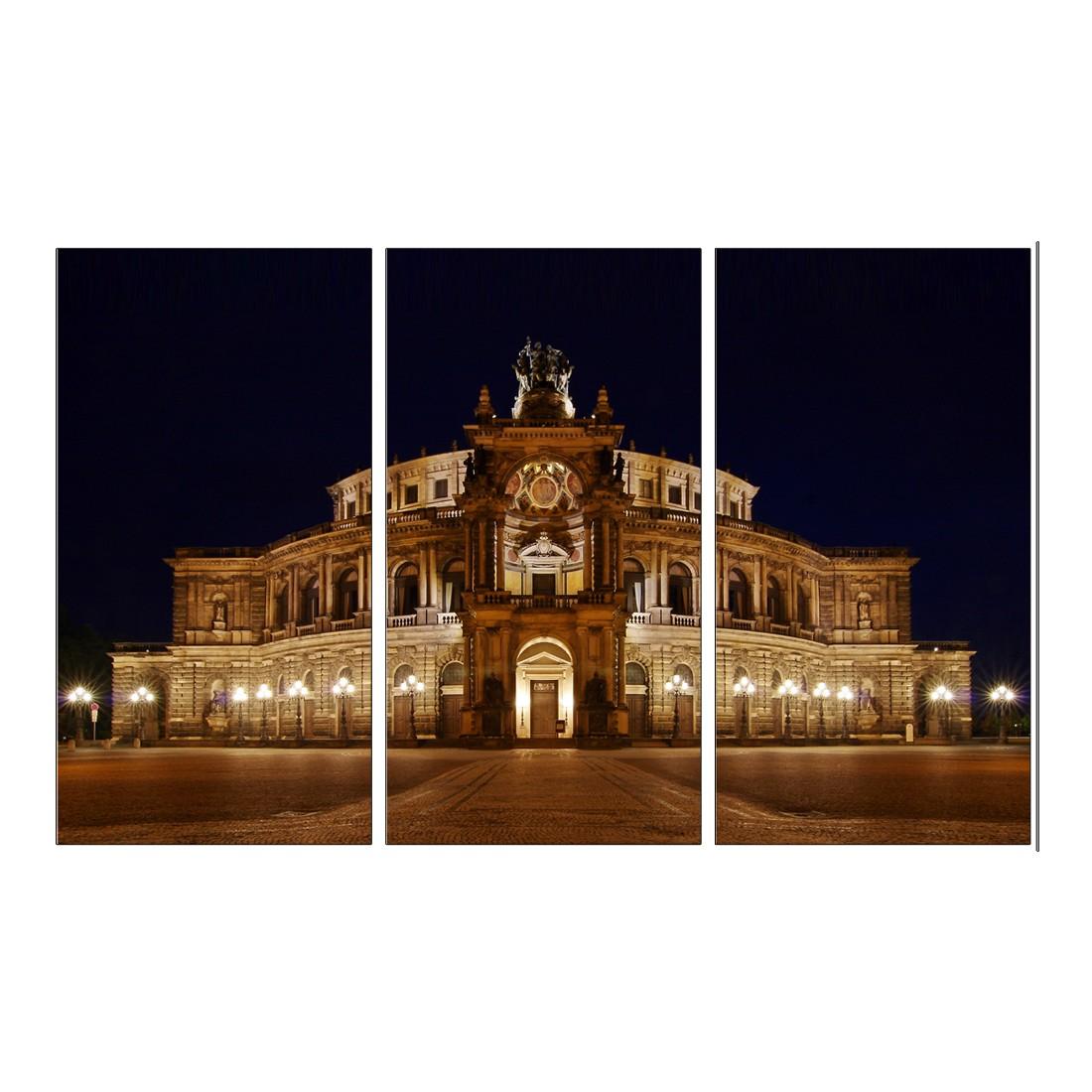 Leinwandbild Oper Dresden – 120 x 80cm, Gallery of Innovative Art online bestellen