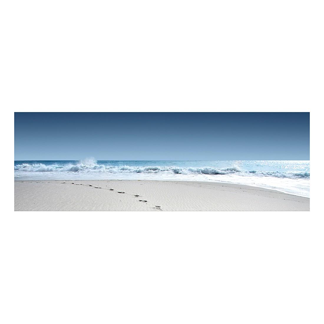 Leinwandbild Spuren im Sand, Mantiburi jetzt bestellen