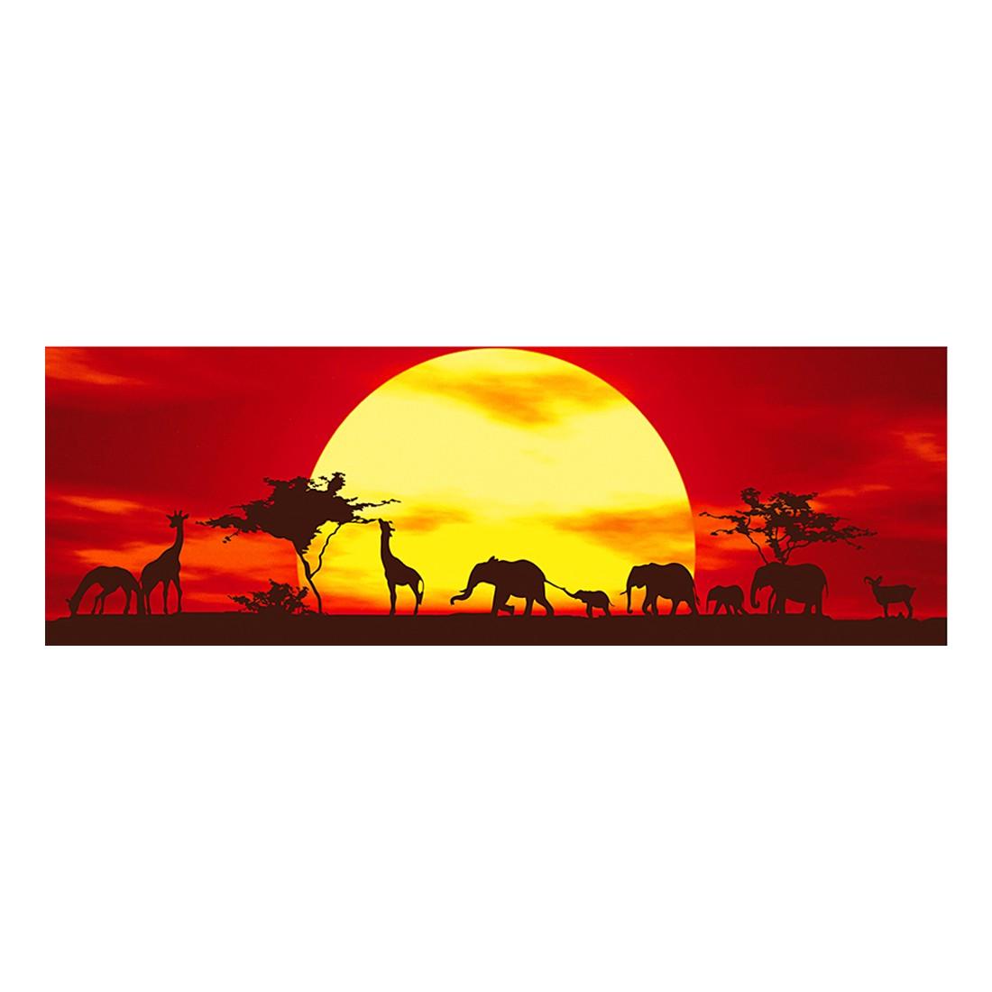 Leinwandbild Sunset Caravan, Mantiburi online kaufen