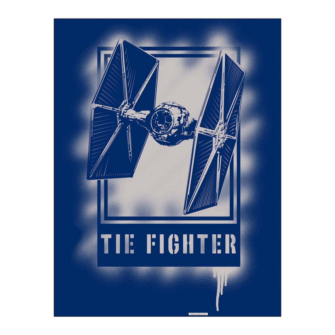 Leinwandbild Tie Fighter Artwork – 100×75 cm, Gallery of Innovative Art günstig online kaufen