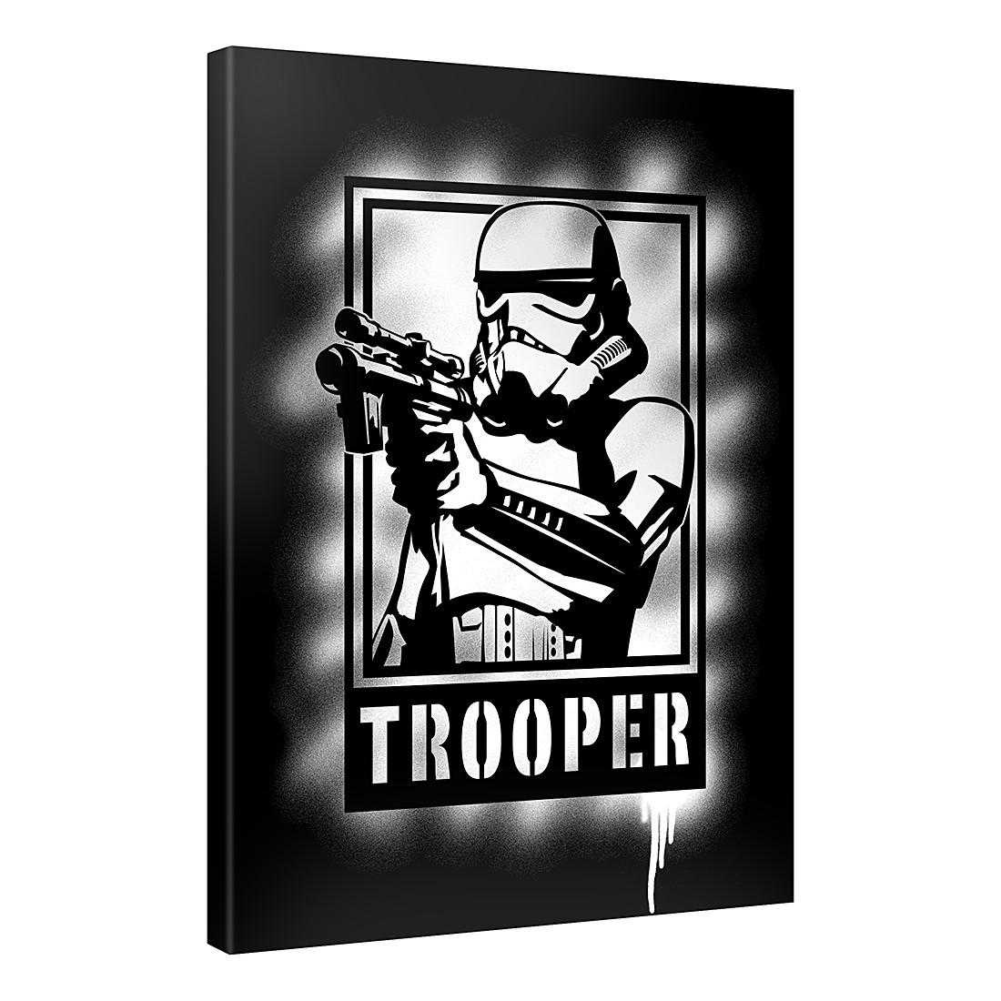 Leinwandbild Trooper Artwork – 100×75 cm, Gallery of Innovative Art günstig bestellen
