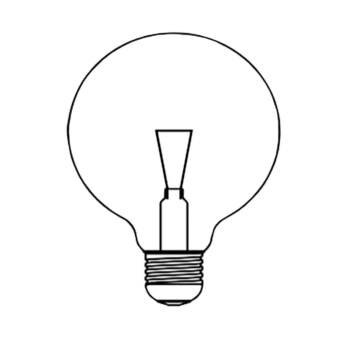 Leuchtmittel Halogenkugellampe - 1-flammig, Koziol