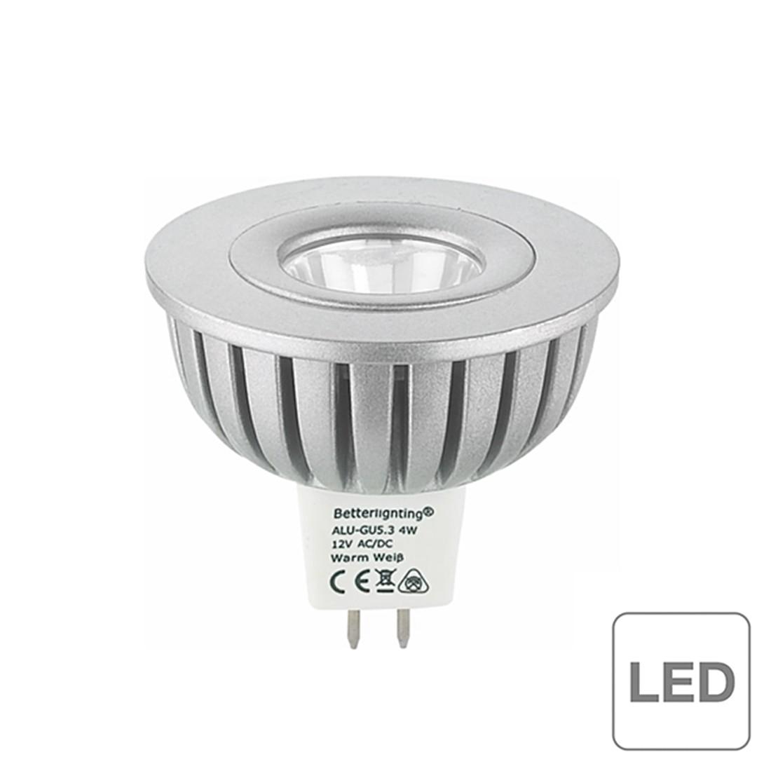Leuchtmittel LED ALU-Spot- GU5.3- 4-4W (6er Set) ● 1-flammig- Btr A+