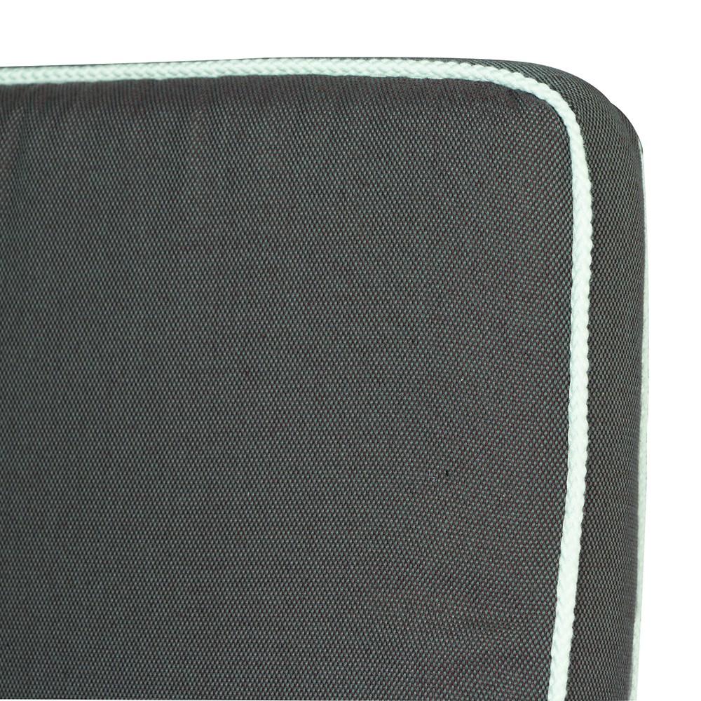 Liegenauflage Rosanna – 100% Polyester – Grau – Weiss, MBM kaufen