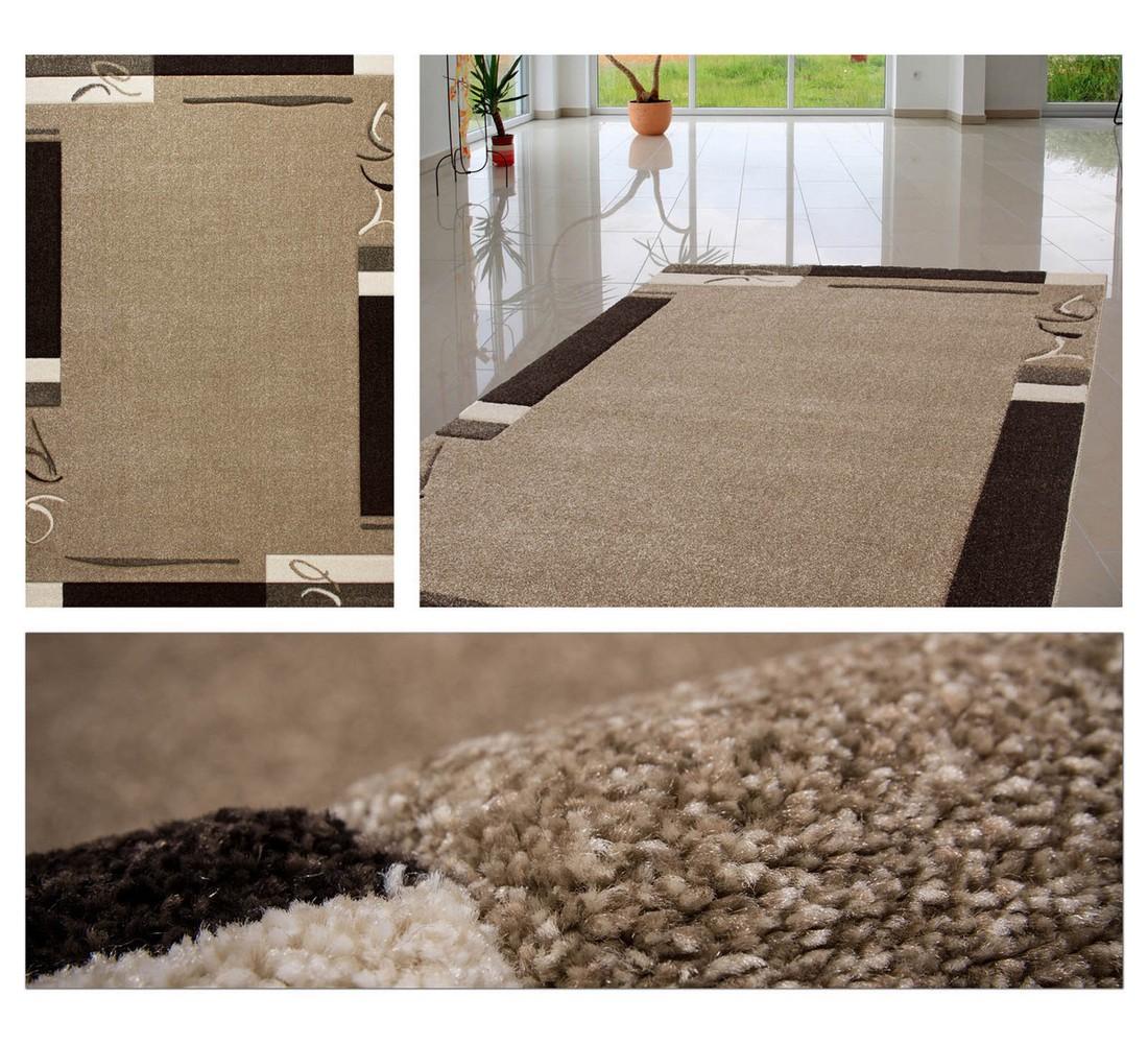 Teppich Laila – Greige – 80 x 150 cm, Obsession günstig online kaufen