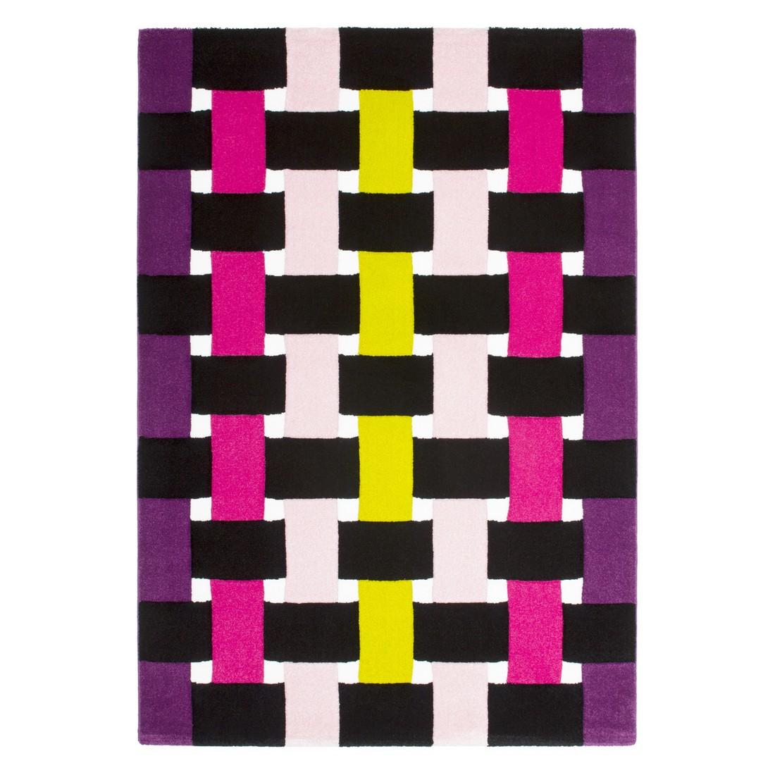 Teppich Tetris – Lila/Fuchsia – 200 x 290 cm, Obsession jetzt kaufen